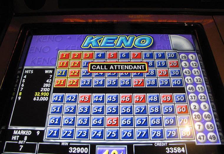 Arcade Video Keno