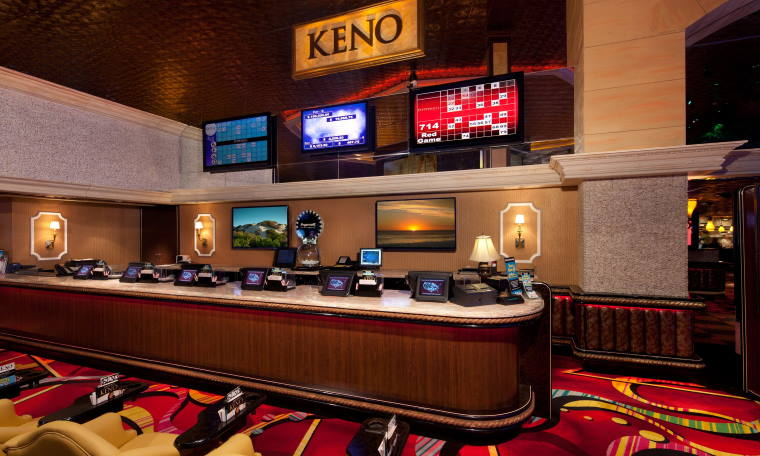 Keno Lounge at a Casino