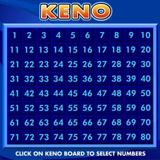 An Online Keno Game